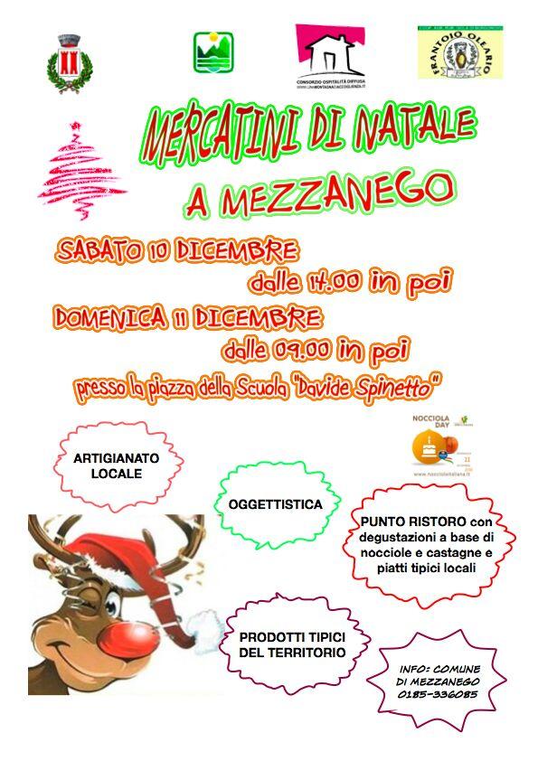 Mercatini di Natale a Mezzanego!!